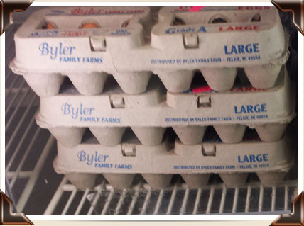 Byler Family Farm Eggs